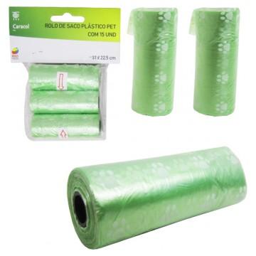 Saco Plástico Fezes Animal Cata Caca - 2 unidades