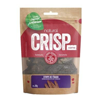 Snack Natural Crisp Fígado para Cães - 20g