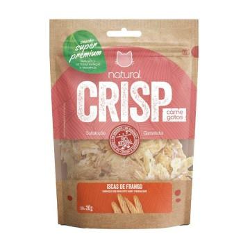 Snack Natural Crisp Iscas de Frango para Gatos - 20g