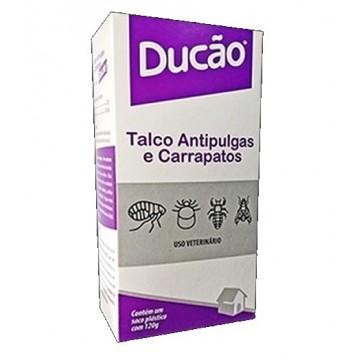 Talco Ducão Antipulgas e Carrapatos - 120g