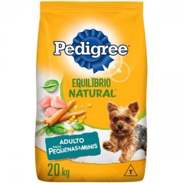 Ração a Granel Pedigree Equilíbrio Natural Cães Adultos Raças Pequenas - 1kg