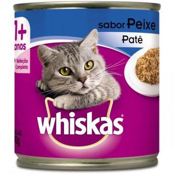 Whiskas Patê para Gatos Adultos Sabor Peixe - 290g