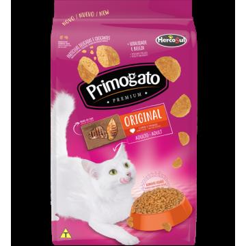 Ração Primogato Original Gatos Adultos - 10,1kg + Areia de Brinde