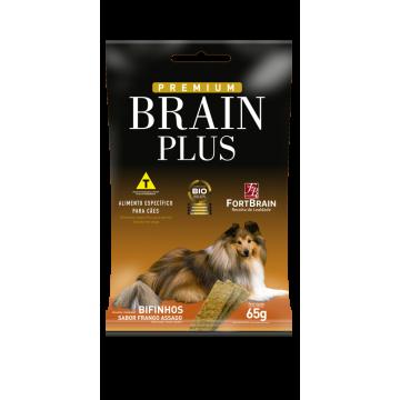 Bifinho Brain Plus para Cães Adultos Sabor Frango Assado - 65g
