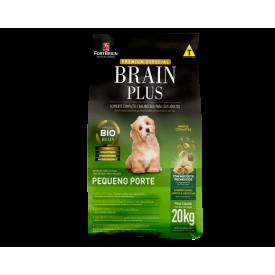 Ração Brain Plus Cães Adultos Raças Pequenas - 20kg