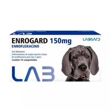 Enrogard 150mg Labgard - 10 Comprimidos
