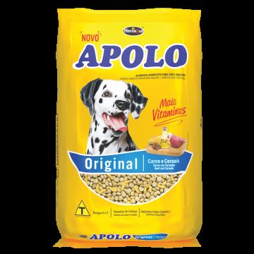 Ração Apolo Original para Cães Adultos Sabor Carne e Cereais - 20kg