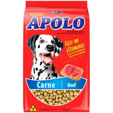 Ração Apolo para Cães Adultos Sabor Carne - 10,1kg