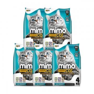 Areia Mimocat Premium 4kg - 5 unidades