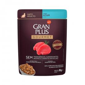 GranPlus Gourmet Sachê para Gatos Adultos Sabor Atum - 85g