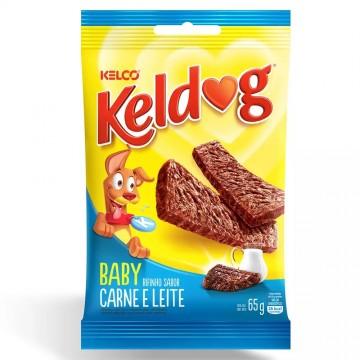Bifinho KelDog Baby para Cães Filhotes Carne e Leite - 65g
