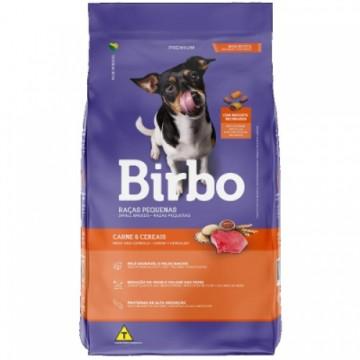 Ração Birbo para Cães Adultos de Raças Pequenas Sabor Carne e Cereais - 10kg