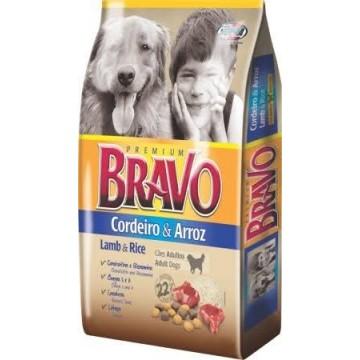 Ração a Granel Bravo Cães Adultos Sabor Cordeiro e Arroz - 1kg
