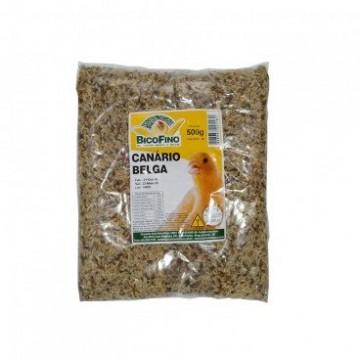 Mistura para Pássaros Canário Belga Bico Fino - 500g