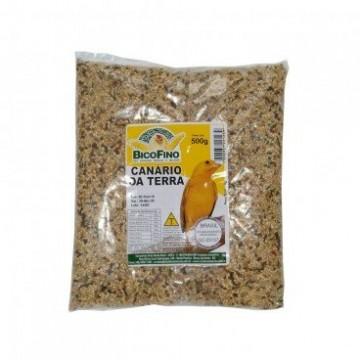 Mistura para Pássaros Canário da Terra Bico Fino - 500g