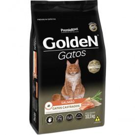 Ração Golden para Gatos Castrados Sabor Salmão - 6kg