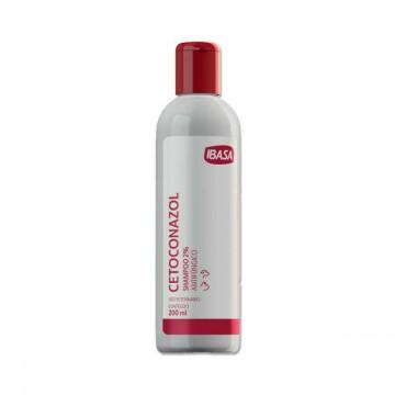 Shampoo Antifúngico Ibasa Cetoconazol para Cães e Gatos - 200ml
