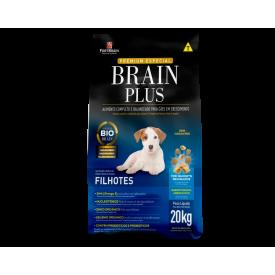 Ração Brain Plus para Cães Filhotes - 20kg