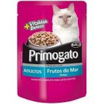 Primogato Sachê Gatos Adultos Frutos do Mar - 85g