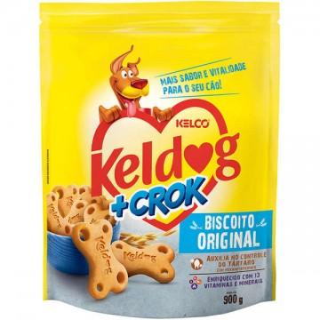 Biscoito Keldog +Crok Original - 900g