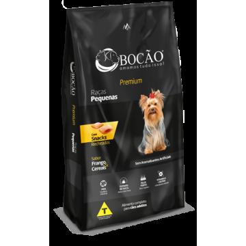 Ração Bocão Premium Cães Adultos Raças Pequenas Carne e Arroz - 10,1kg