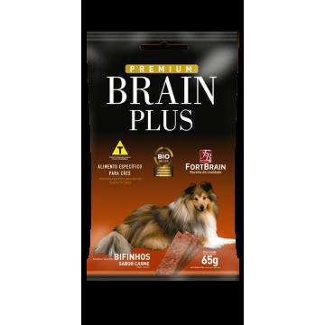 Bifinho Brain Plus para Cães Adultos Sabor Carne - 65g