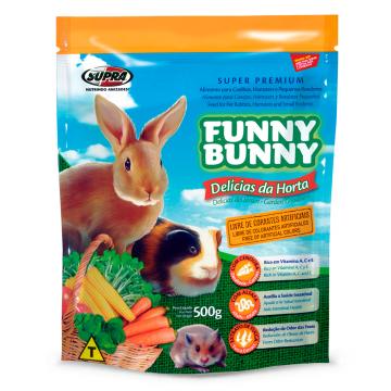 Ração Funny Bunny Delícias da Horta - 1,8kg