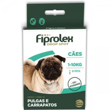 Antipulgas e Carrapatos Fiprolex para Cães de até 10kg