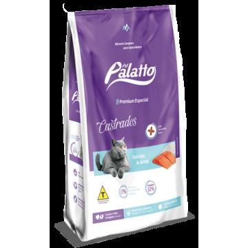 Ração Palatto Premium Especial Gatos Castrados - 10,1kg + 5 Areias de Brinde