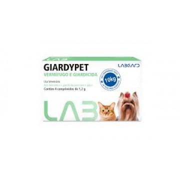 Vermífugo Giardypet - 1 comprimido