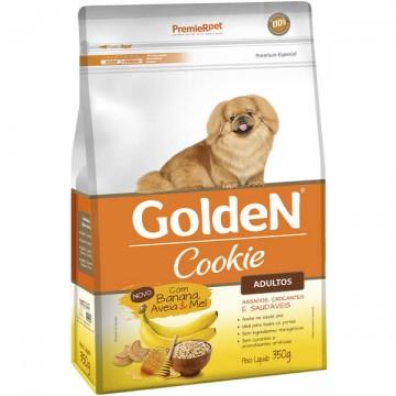 Biscoito Golden Cookie Banana com Aveia e Mel para Cães Adultos - 400g