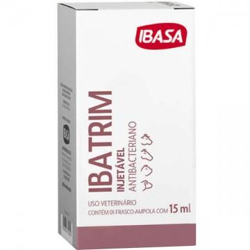 Antibacteriano Ibasa Ibatrim Injetável - 20ml