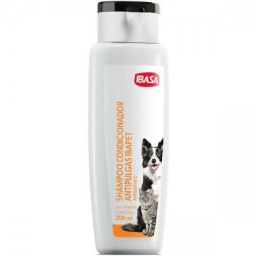 Shampoo e Condicionador Ibasa Antipulgas para Cães e Gatos - 200ml