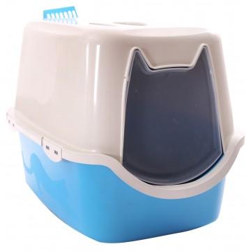 Toalete Higiênico para Gatos + Pazinha e Areia de Brinde