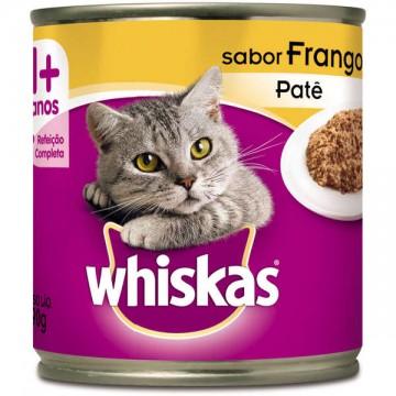 Whiskas Patê para Gatos Adultos Sabor Frango - 290g