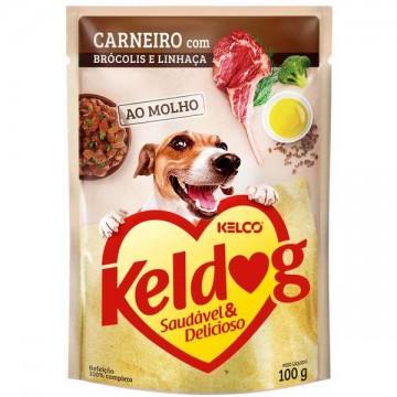 Sachê Keldog para Cães Adultos Sabor Carneiro - 100g