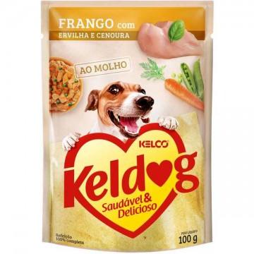 Sachê Keldog para Cães Adultos Sabor Frango - 100g