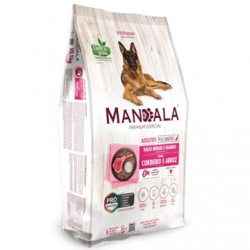Ração Mandala Premium Especial Cães Adultos Médio e Grande Cordeiro - 10,1kg