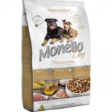 Ração a Granel Monello Dog Tradicional Cães Adultos - 1kg