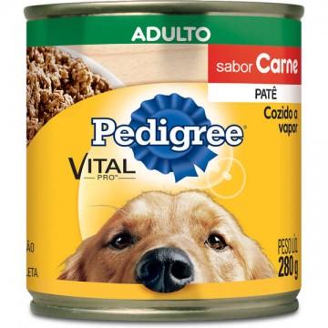 Patê Pedigree para Cães Adultos Sabor Carne - 280g