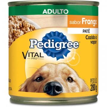 Patê Pedigree para Cães Adultos Sabor Frango - 280g