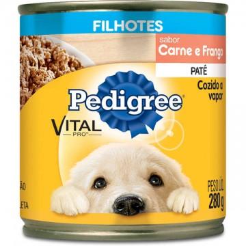 Patê Pedigree para Cães Filhotes Sabor Carne e Frango - 280g
