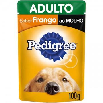 Sachê Pedigree para Cães Adultos Sabor Frango - 100g
