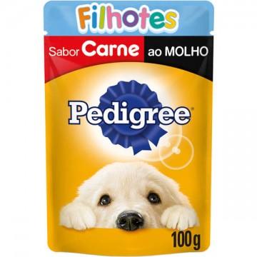 Sachê Pedigree para Cães Filhotes Sabor Carne - 100g