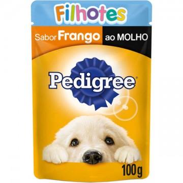 Sachê Pedigree para Cães Filhotes Sabor Frango - 100g