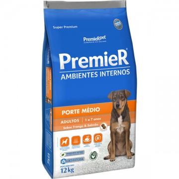 Ração a Granel Premier Ambientes Internos Cães Adultos Médio Porte - 1kg