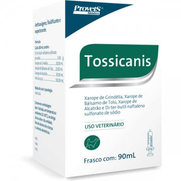 Xarope Tossicanis para Cães - 90 mL
