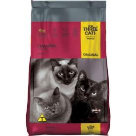 Ração Three Cats Gatos Castrados - 15kg