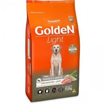 Ração Golden Light para Cães Adultos Sabor Frango e Arroz - 15kg