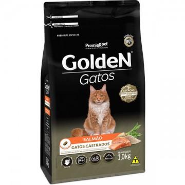 Ração a Granel Golden Gatos Castrados Sabor Salmão - 1kg